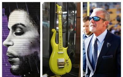 La guitarra favorita de Prince la compró el dueño de los Colts de la NFL.