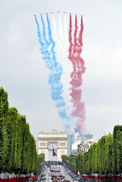Francia celebró la conmemoración de la gloriosa toma de la Bastilla con...