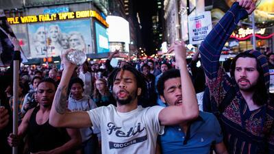 Varios detenidos en Nueva York por manifestaciones por Freddie Gray