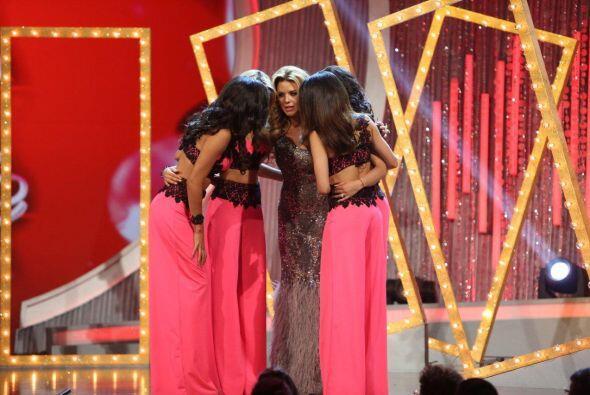 Las chicas de Alicia tenían que decidir quién de las otras se quedaba.