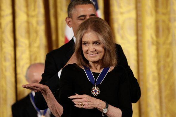 En 2013, Gloria Steinem -periodista y escritora judía estadounidense con...