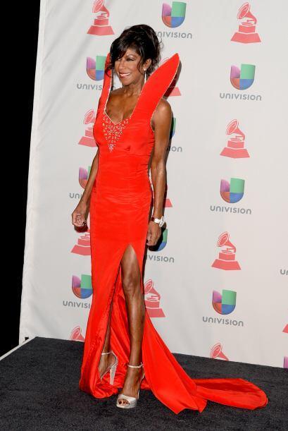 Natalie Cole fue una de las estrellas que no sólo impresionó con su extr...