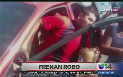 Bueno samaritanos detienen robo-secuestro