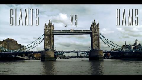 Giants vs. Rams, batalla en Londres
