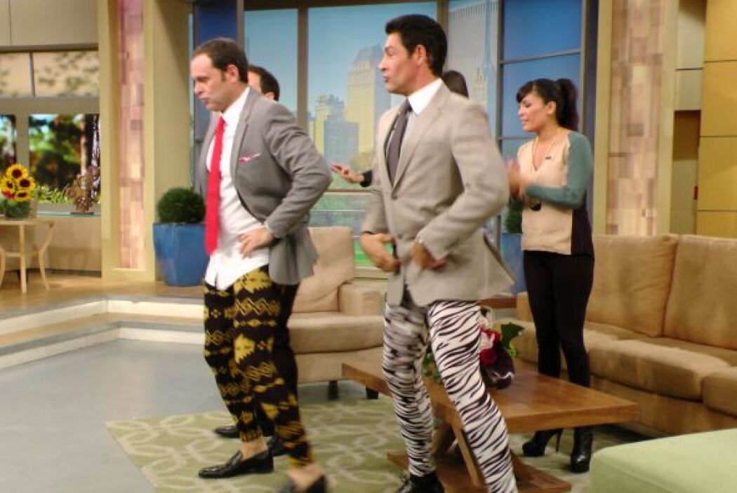 Los leggins también han llegado a las tiendas de caballeros.