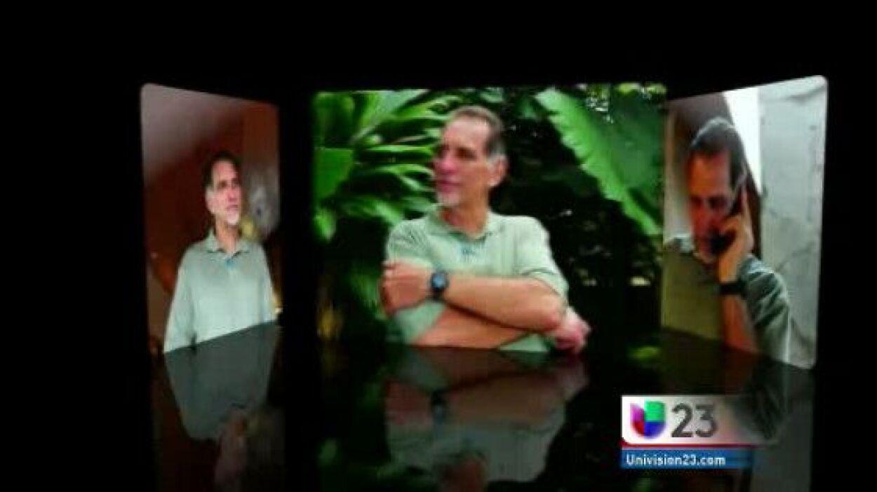 René González, uno de los cinco cubanos condenados en Estados Unidos por...