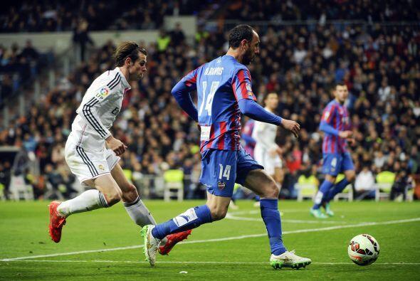 El Levante no mostró nada en el Santiago Bernabéu, y solo...