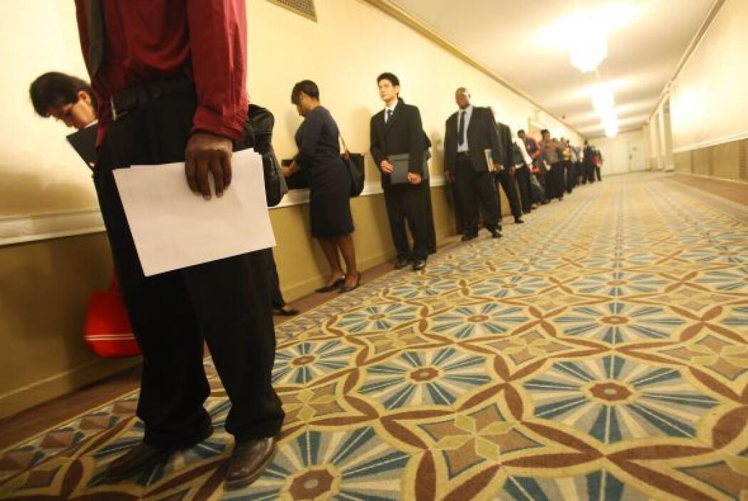 La crisis generó un desempleo nunca antes visto en Estados Unidos, al me...