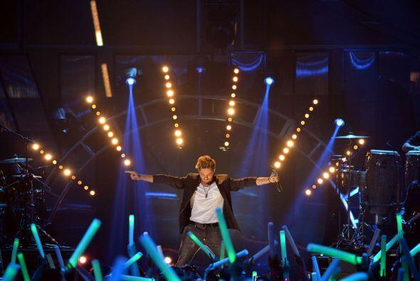 Alta dosis de adrenalina dejó en el escenario el español, antes de que l...