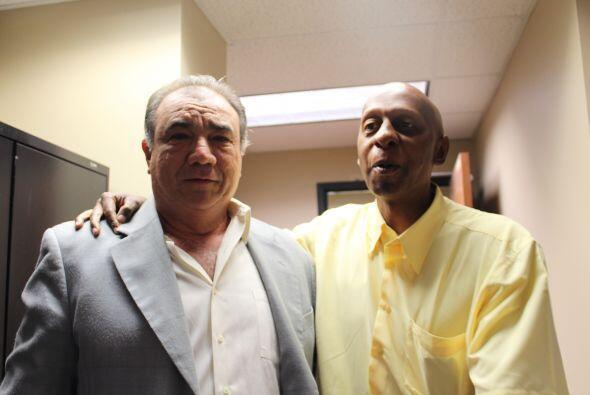 Fariñas, en la foto con Rigoberto López Alonso, acusó al Gobierno cubano...