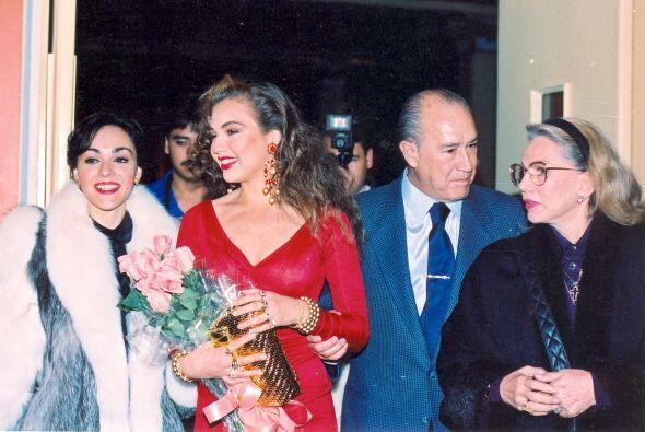 """Poco a poco Thalía consiguió brillar, en 1989 se convirtió en la """"Señori..."""