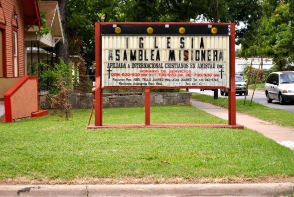 Las tradicionales casas del este de Austin, algunas de las cuales datan...