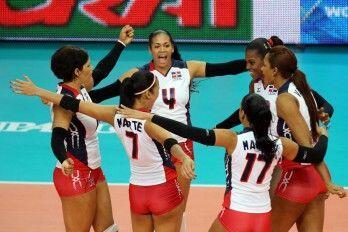 La selección de República Dominicana se coronó en voleibol femenil, al i...