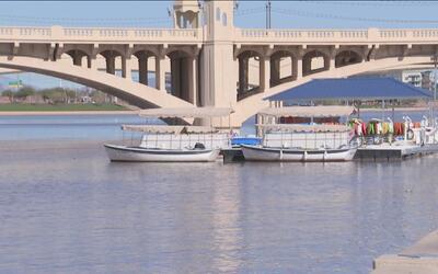 Suspenden actividades en el lago Tempe