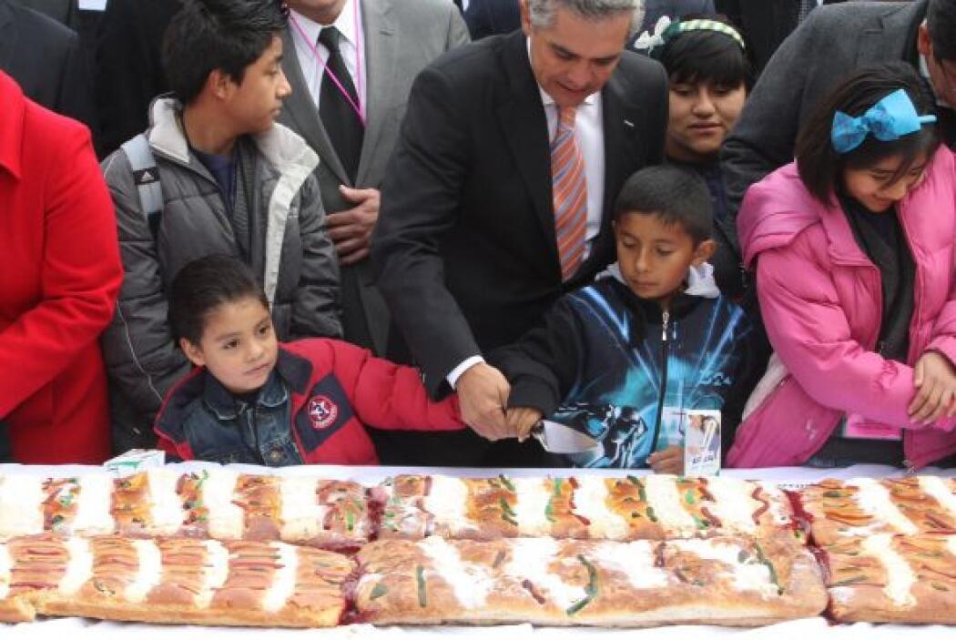 El jefe de Gobierno del Distrito Federal (GDF), Miguel Ángel Mancera, fu...