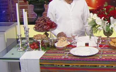 Recomendaciones para adornar la mesa y preparar los detalles de la cena...
