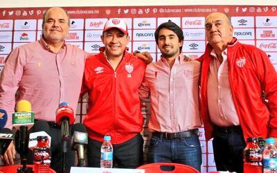 Nacho Ambriz dirigirá a Necaxa en el Apertura 2017.