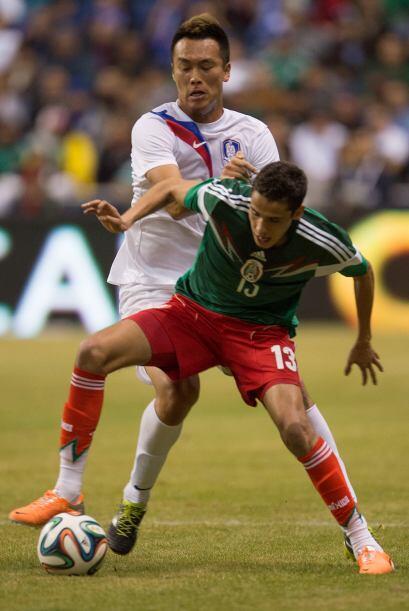 Diego Reyes reapareció con la Selección Mexicana tras su e...