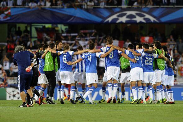 La Real Sociedad jugará con los mejores de Europa en la Champions League.
