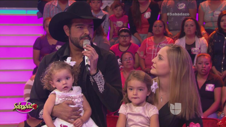Las hijas de Pablo Montero lo sorprendieron