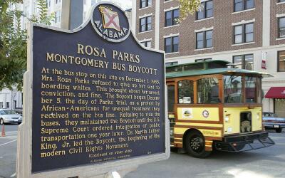 Lugar donde Rosa Parks cambió la historia de EEUU el 1 de diciembre de 1955