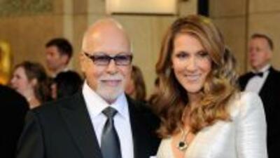 René Angelil, esposo de Celine, representó a la cantante por más de 30 a...