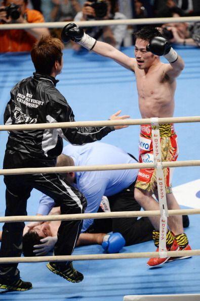 """""""No recuerdo cómo me caí"""", dijo Velarde tras la pelea."""