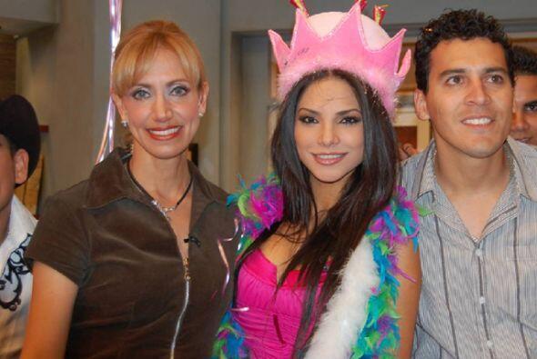 El 27 de marzo de 2008, Ale Espinoza celebró con nosotros por pri...