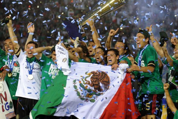 Así, México se alzó como la mejor selección de la CONCACAF por sexta oca...