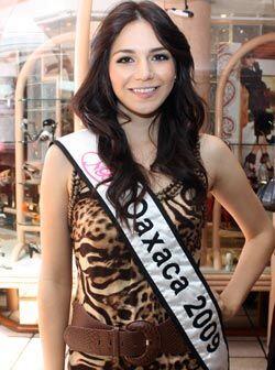 Denisse Christina Mendiola Chávez de 19 años y 1.72 de estatura es la re...