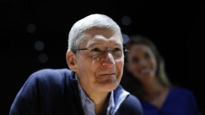 Tim Cook, CEO de Apple, se pronunció en contra de las leyes proponen est...