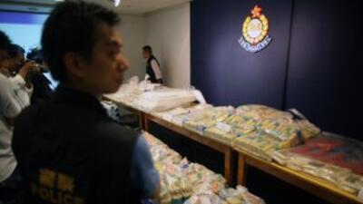 El Servicio de Aduanas de Hong Kong ha realizado el mayor decomiso de co...