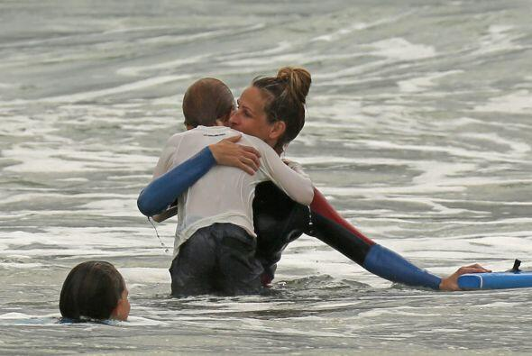 Entre la arena, el mar y el buen clima todo fueron sonrisas.Mira aqu&iac...