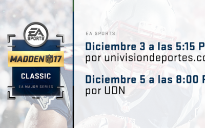Madden 17 Championship Series on Univision Deportes