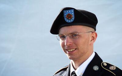 La soldado transgénero Chelsea Manning cuando todavía era...