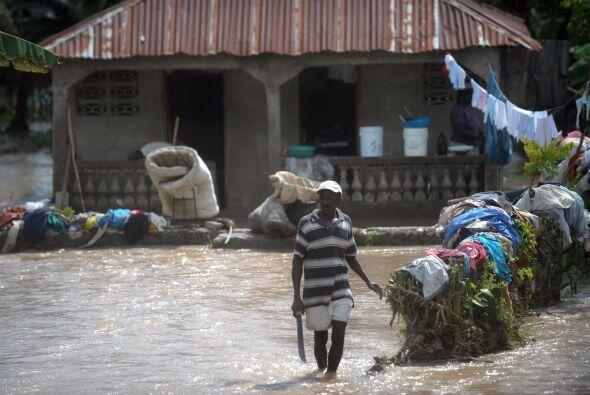 El viernes de la semana pasada la capital haitiana fue azotada por fuert...