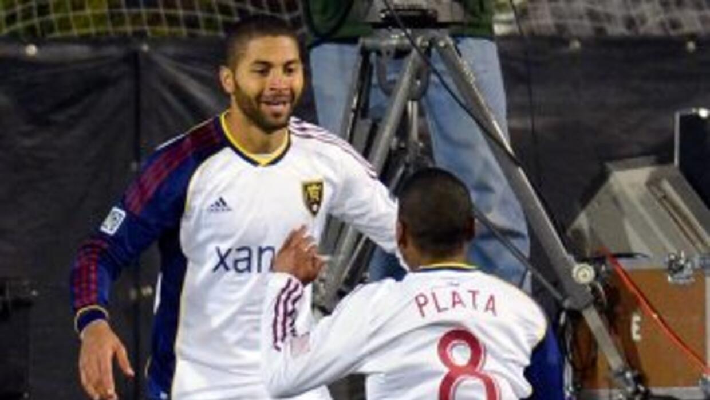 Alvaro Saborio y Joao Plata marcaron en el triunfo de Real Salt Lake.