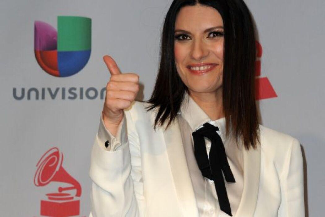El 'look' 'Tomboy' fue elegido nada menos que por Laura Pausini, ¿les gu...