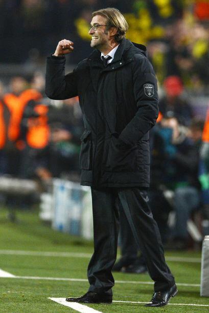 2-1 que era celebrado por todos los alemanes, incluido el entrenador del...