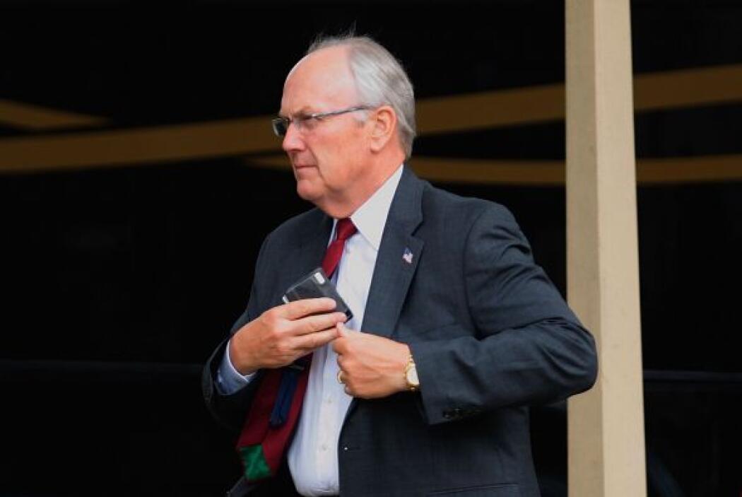 Larry Craig: Al senador lo cacharon con las manos en la masa. Después de...