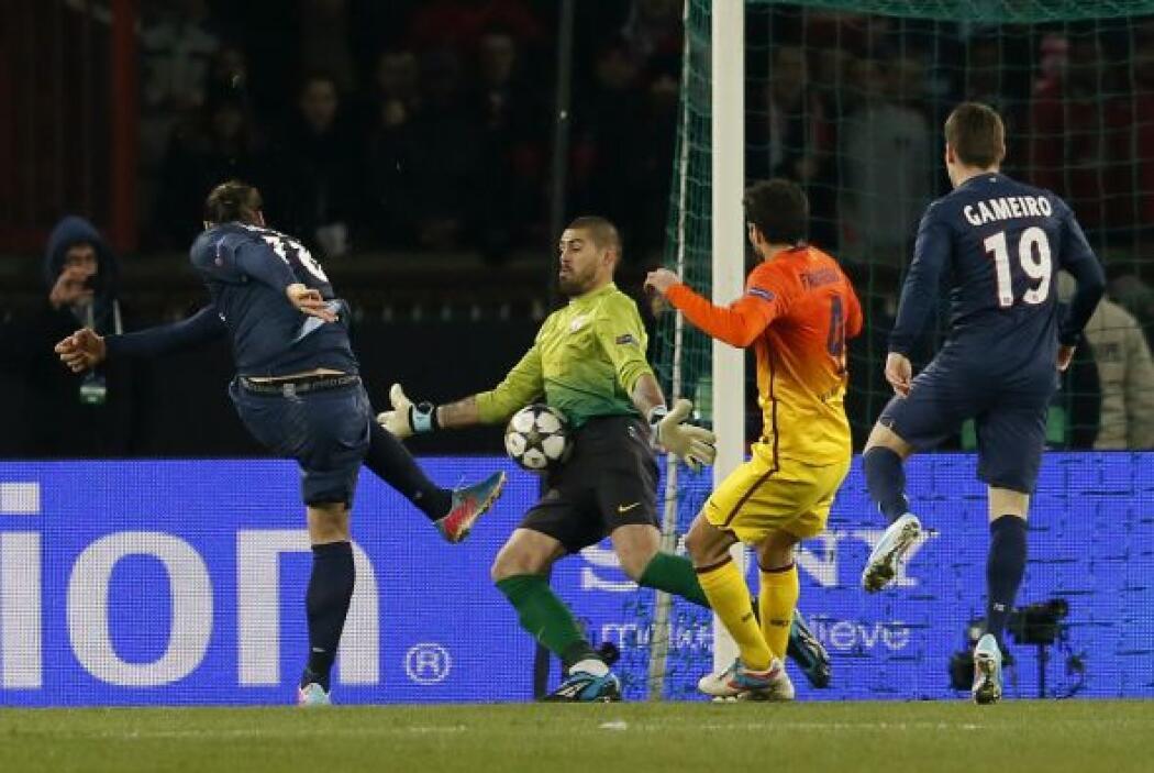 Tuvo varias oortunidades el PSG de empatar el partido.