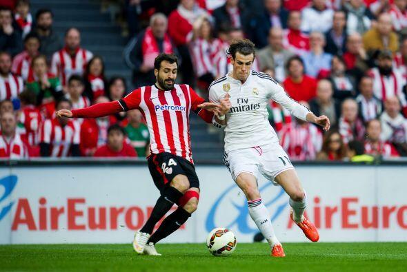 Otro que también sobresalió en el partido fue el galés Gareth Bale quien...