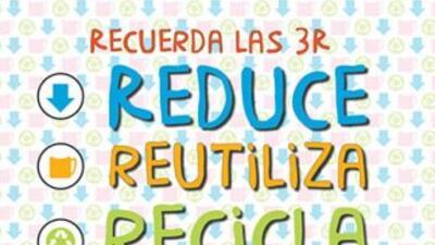 Los principios básicos para reducir la cantidad de basura que producimos...