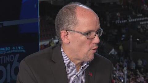 """Tom Pérez: """"Tengo confianza en Clinton y Kaine"""""""