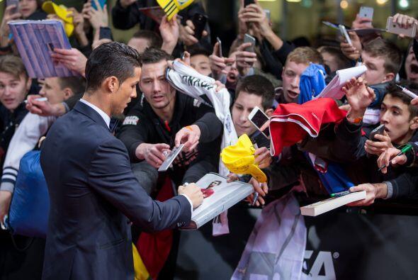 Cristiano Ronaldo fue de los más requeridos por los aficionados en la al...
