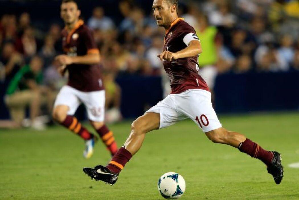 En la edición del 2013 la Roma doblegó por marcador de 3-1 al combinado...