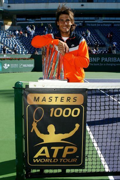 19.- A mediados de marzo 2009 participó en el Masters de Indian Wells, e...