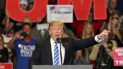 Trump ha publicado una cascada de tuits asegurando que es el ganador del...