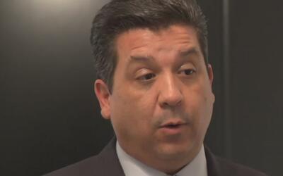 Gobernador de Tamaulipas está en Houston para reunirse con representante...