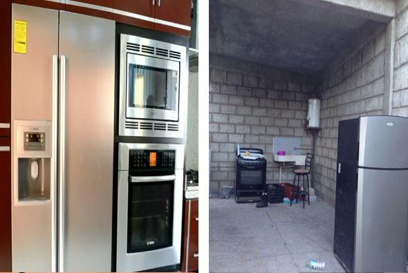 En su vivienda de La Nueva Italia contaba con un frigorífico para...